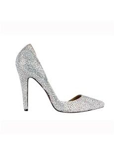 2012 Newest Sheepskin Upper Stiletto Heel Wedding Shoes