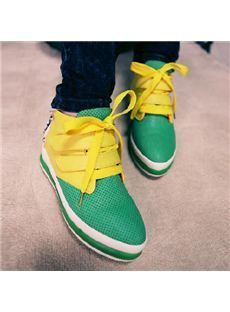 2014 New Arrival Comfortable Contrast Color Casuals Shoes