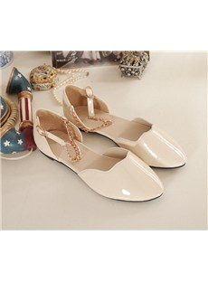 Adorabale New PU Upper Flat Heels Shoes