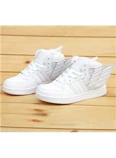Attractive Wings Solid Color Sneakers