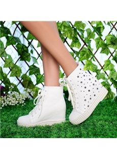 Casual Little Stars High-Top Sneakers