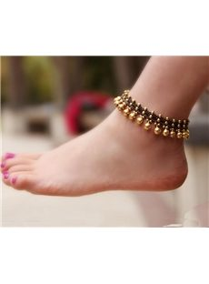 Classic  Coppery Bell Anklet