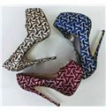 Color Platform Stiletto Heels