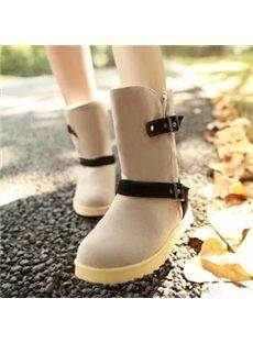 Comfortable Assorted Colors Snow Boots