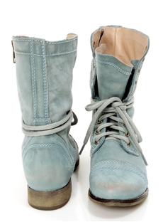 Comfortable Casual Lace-Up Flat Boots