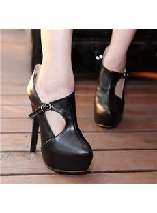 Concise Cut-Outs Ankle Boots