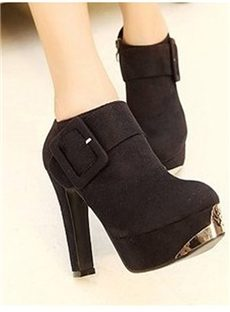 Cool  Fancy Euramerican New Arrival Suede All-matched Boots