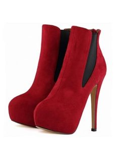 Elegant Assorted Colors Ankle Boots