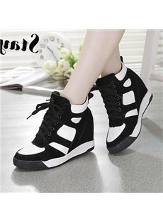 Elegant Dermis Lace-up High-top Sneaker