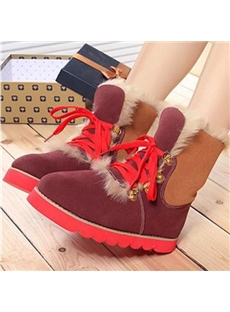Fashionable Real Fur Snow Boots