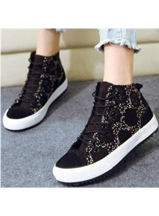 Fashionable Wool Canvas Shoes