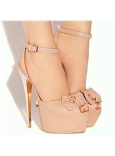 Good-Looking Bowknot Ankle Strap Dress Sandals