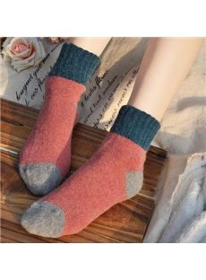 Good-looking Assorted Color Cony Hair Socks