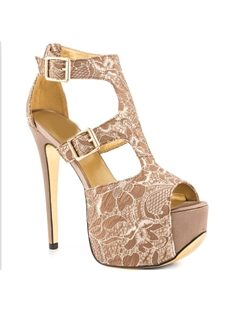 Gorgeous Flower Print Peep-Toe Platform Sandals