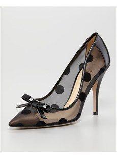 Graceful Stilletto Heels Transparent Women Boots