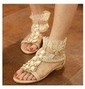 Honey Summer ComfortableLace Flat Heels Shoes
