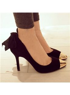 Korean Style & Big Size Pointed-toe Heels