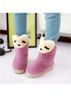 Korean Style Warm Snow Boots