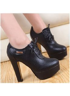 New Arrival Euramerican Peep Toe Metal Thick Platform Chunky Heel Boots