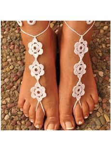 New Arrival Manual Cotton Anklets Foot Ornaments
