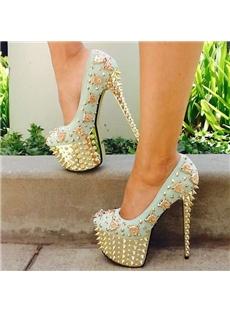 New Fashion Pretty Girl Platform Heels