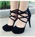 Sophisticated Suede Cut-Outs Hand-made Dress Sandals