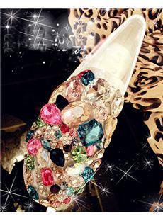 Sparkle Flat Heels with Glitters& Rhinestones