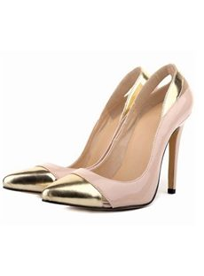 Striking Assorted Colors Cut-outs Low Heels
