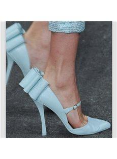 Stunning Bowknot Point-Toe Stiletto Heels