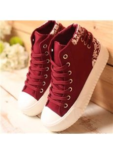 Stylish Assorted Color Canvas Shoes