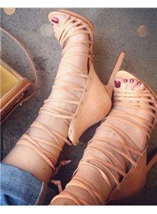 Stylish Men's Killer Ankle Strap Dress Sandals