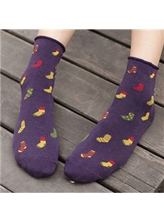 Sweet & Warm Cotton Women Socks