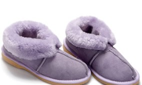 Fashion 4 Shoes - Adult Slippers- Blueberry