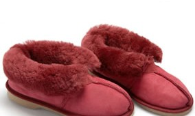 Fashion 4 Shoes - Adult Slippers- Burgundy