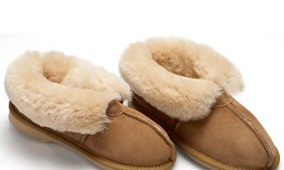 Fashion 4 Shoes - Adult Slippers- Chestnut