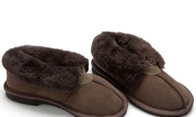 Fashion 4 Shoes - Adult Slippers- Chocolate