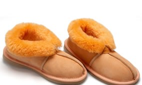 Fashion 4 Shoes - Adult Slippers- Orange