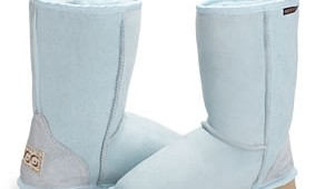 Fashion 4 Shoes - Classic Short Ugg Boot -Baby Blue