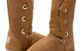 Fashion 4 Shoes - Dance Ugg Boot - Chestnut