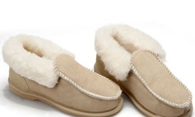 Fashion 4 Shoes - Deluxe Moccasins -Sand