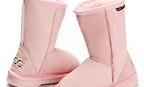 Fashion 4 Shoes - Kids Classic Ugg Boots- Pink
