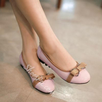Bowknot Decoration Flats
