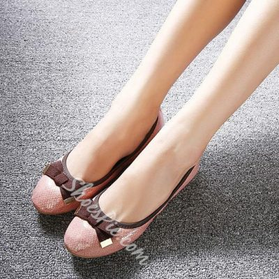 Comfortable Bowtie Flats