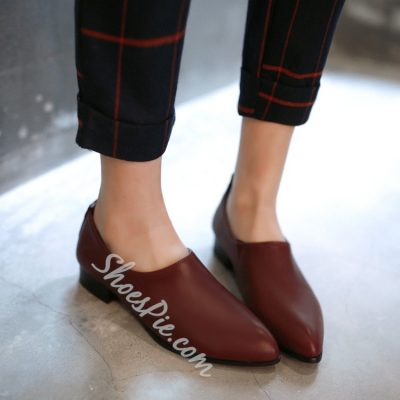 Concise Pure Color Flats