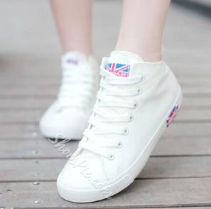 Concise Summer Comfortable Lace-up Canvas Shoes