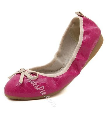 Fabulous Bowknot Decorated Solid Color Flats