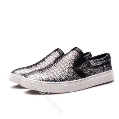 Shoepie New Arrival Square Embossed Men's Loafer