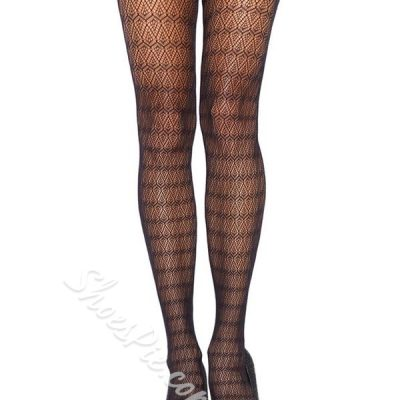 Shoespie Back Geometric Cutout Body Stockings