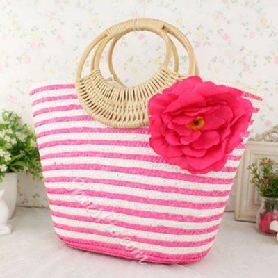 Shoespie Big Flower Bohemia Style Handbag