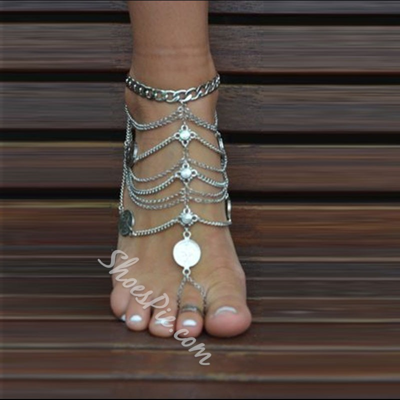 Shoespie Chain thong Anklet